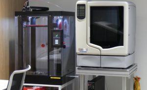 浜野製作所内「garage sumida」の業務用3Dプリンタ